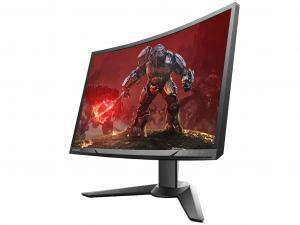 Lenovo Y27F 65BFGAC1EU Gaming ívelt FullHD Monitor 27