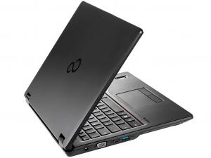 Fujitsu Lifebook E448 LFBKE448-1 14 FHD IPS, Intel® Core™ i3 Processzor-7130U, 4GB, 256GB SSD, Dos, fekete notebook