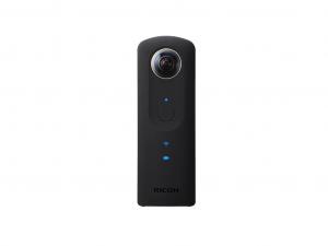Ricoh Theta S 360 fekete videokamera