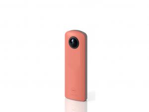 Ricoh Theta SC - 360 fokos látószög - rózsaszín videokamera