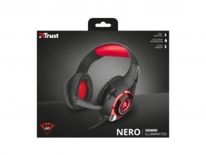 Trust GXT 313 Nero - Jack - Gamer fejhallgató