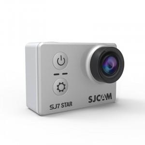 SJCAM SJ7 Star sportkamera - Ezüst - vízálló tokkal
