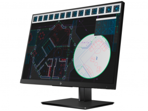 HP Z24i, 24 LED monitor (1920x1200), IPS panel, D-SUB, HDMI, DisplayPort