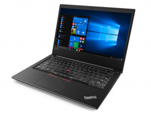 Lenovo ThinkPad E480 20KN001NHV 35.6 cm (14) LCD Notebook - Intel® Core™ i7 Processzor (8th Gen) i7-8550U Quad-core (4 Core) 1.80 GHz - 8 GB DDR4 SDRAM - 256 GB SSD - Windows 10 Pro 64-bit - 1920 x 1080 - In-plane Switching (IPS) Technology - Black - AMD Radeon RX 55