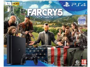 Sony Playstation 4 (PS4) Slim 1TB + Far Cry 5 Konzolcsomag