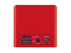 Trust Urban Ziva - Vezeték nélküli - Piros - Bluetooth hangszóró