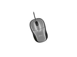 Trust Primo - USB - Fekete Egér + Fekete Egérpad
