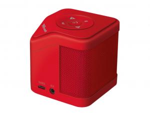 Trust Urban Muzo - Vezeték nélküli - Bluetooth hangszóró - Piros