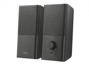 Trust Teros 2.0 - Jack - 12W - USB - tápellátású fekete hangszóró