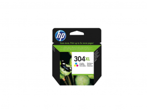 HP 304XL - N9K07AE - Nagy kapacitású színes tintapatron