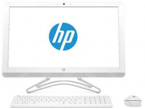HP AIO 24-e004nn 23.8 FHD, AMD A9 9400, 4GB, 1TB HDD, AMD Radeon R5, Dos, fehér