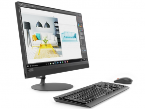 Lenovo Ideacentre AIO 520-22IKL 21.5 FHD, Intel® Core™ i3 Processzor-7100T, 4GB, 1TB HDD, fekete