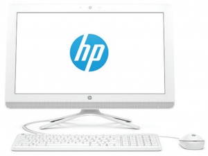 HP AIO 22-b301nn PC 21.5 FHD, Intel® Core™ i5 Processzor-7200U, 8GB, 2TB HDD, NVIDIA GeForce GTX 920MX - 2GB, fehér