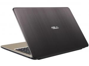 Asus VivoBook X540NA-GQ020 15.6 HD, Intel® Dual-Core™ N3350, 4GB, 128GB SSD, linux, csokoládé fekete notebook