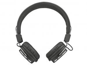 Trust Ziva - Összehajtható - Fekete - Fejhallgató