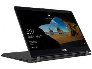 Asus ZenBook Flip UX461UN-E1016T 14 FHD, Intel® Core™ i7 Processzor-8550U, 8GB, 256GB SSD, NVIDIA GeForce MX150 - 2GB, Win10, szürke notebook
