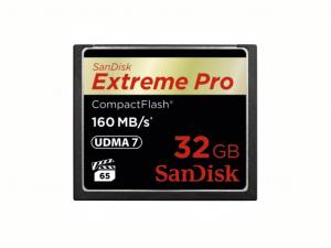Sandisk 32GB CompactFlash Extreme Pro Memóriakártya