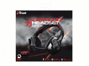 Trust GXT 340 7.1 Surround Gamer USB Fejhallgató