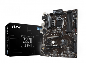 MSI Z370-A PRO - S1151 - Intel® Z370 - ATX Alaplap