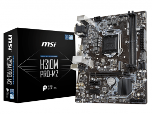 MSI H310M PRO-M2 - S1151 - Intel® H310 - mATX