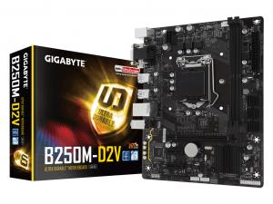 Gigabyte B250M-D2V - S1151 - Intel® B250 - mATX