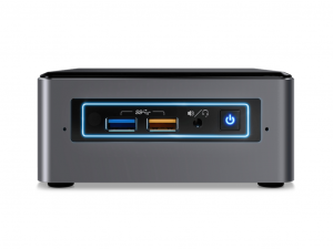 Intel® NUC 7 Enthusiast Mini PC - Intel® Core™ i7 Processzor-7567U 8GB - 2TB HDD - Windows® 10