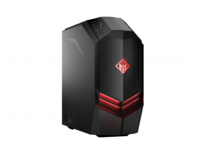 HP OMEN 880-003NN - AMD Ryzen 7 ( Water Cooling ) 1700 8C - 8GB - 1TB HDD + 128GB SSD - GeForce GTX 1050 2GB - Piros/Fekete