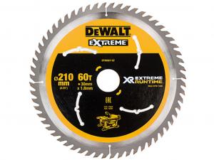DeWALT DT99567-QZ XR FlexVolt Körfűrészlap 210mm x 30mm 60T