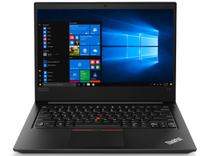 Lenovo Thinkpad E480 14 FHD IPS, Intel® Core™ i5 Processzor-8250U, 8GB, 256GB SSD + 1TB HDD, Win10P, fekete notebook