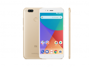 Xiaomi MI A1 - 64GB - 4G - Dual SIM - arany - Okostelefon