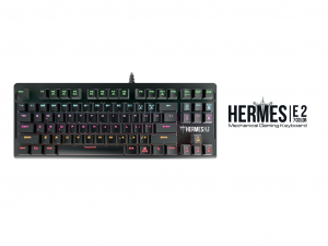 Gamdias HERMES E2 brown switch mechanikus gamer billentyűzet - HU