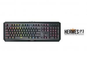 Gamdias HERMES P3 Mechanikus gamer billentyűzet - UK - angol kiosztású