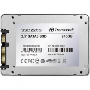 Transcend SSD220 240GB SSD meghajtó