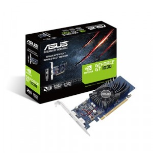 Asus GeForce GT 1030 2GB GDDR5 Videókártya (GT1030-SL-2G-BRK)
