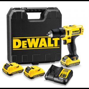 DeWALT DCD710D3-QW Akkumulátoros fúró/csavarozó 10.8V, 3 akkumulátor, koffer
