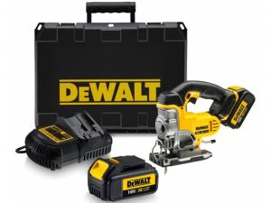 DeWALT DCS331M2-QW 18 V-os XR Li-Ion dekopirfűrész kofferben