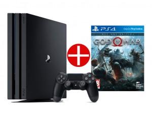 Sony Playstation 4 Pro (PS4) 1TB Játékkonzol + Ajándék God Of War játékprogram! Az Akció 04.26-ig érvényes!