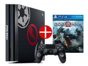 Sony Playstation 4 Pro (PS4) 1TB - StarWars Battlefront 2 Konzolcsomag + Ajándék God Of War játékprogram! Az Akció 04.26-ig érvényes!