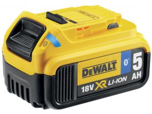DeWALT DCB184B-XJ 18V 5Ah XR Li-Ion Tool Connect Bluetooth akkumulátor