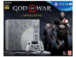 Sony Playstation 4 (PS4) Pro 1TB - God Of War Limited Edition konzolcsomag