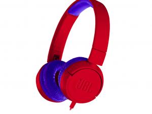 JBL JR300RED piros gyerek fejhallgató