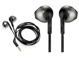 JBL T205BLK fekete mikrofonos fülhallgató