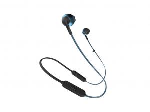 JBL T205BTBLU kék Bluetooth fülhallgató headset