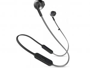 JBL T205BTBLK fekete Bluetooth fülhallgató headset