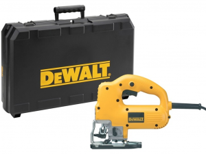 DeWALT DW341K-QS 550 W-os, felsőfogantyús dekopírfűrész kofferben