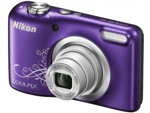 Nikon Coolpix A10 lineart lila fényképezőgép