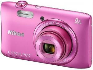 Nikon Coolpix A300 rózsaszín digitális fényképezőgép