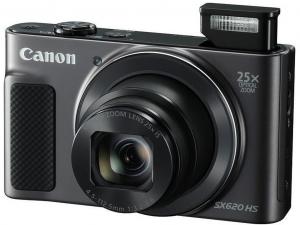 Canon PowerShot SX620 HS fekete digitális fényképezőgép