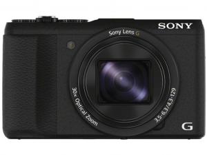 SONY DSC-HX60B fekete fényképezőgép