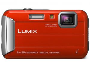 Panasonic DMC-FT30EP-R piros digitális fényképezőgép